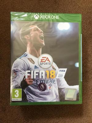 FIFA 18 XBOX ONE BRAND NEW SEALED