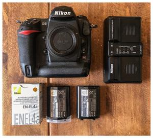 Nikon D3 Body - Immaculate