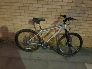 Apollo mountain bike with full disc brakes