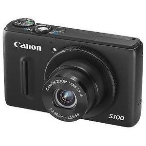Canon PowerShot S100 Digital Camera (black) - Good Condition