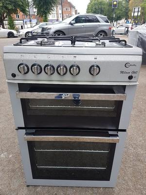 FLAVEL ML61NDSP 60cm FULL GAS DOUBLE OVEN COOKER(second hand) /