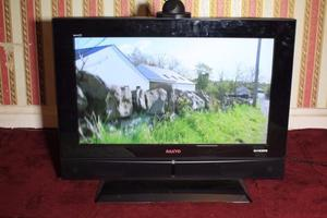SANYO 26 INCH HDMI FREE VIEW TV GREAT FOR GAMING FIRE STICK ETC