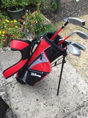 Wilson kids golf set