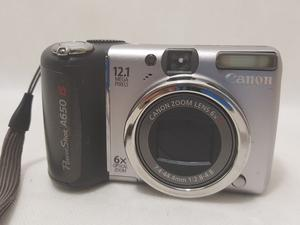 CANON Powershot A650 IS 12.1 Megapixel Digital Camera - H08