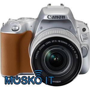 Canon EOS 200D Digital SLR Camera with mm IS STM Lens -
