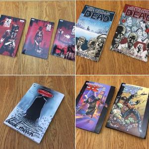 Graphic novel bundle - Batman, X-men, walking dead and 28 days later books