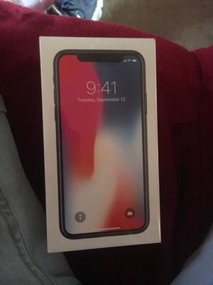 iPhone X brand new/ still boxed/ unlocked/ collection only