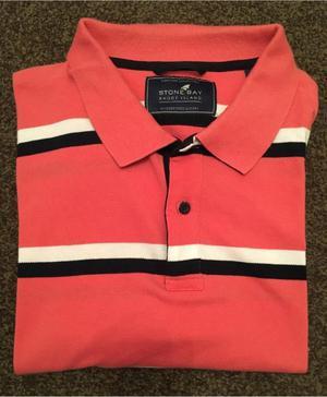 Brand New M&S Men's XXL Short Sleeved Polo Shirt Rrp £