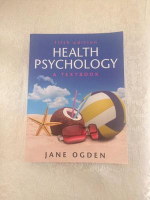Health Psychology Textbook - 5th Edition - Jane Ogden