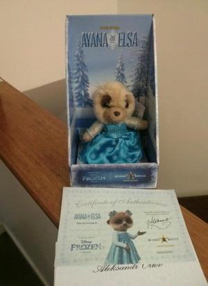 Limited edition Meerkat soft toy Ayana as Elsa Disney Frozen