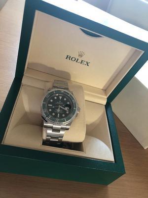Rolex Submariner Steel Green ' hulk '  unworn / brand new