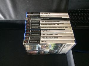 Sony Playstation 2 Games, Bundle of ten