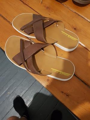 Versace size 44 sandals never worn.