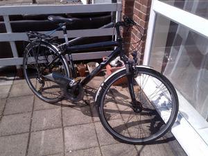 Mens Hybrid Bike Raleigh Jaguar