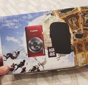 Red Canon Ixus 165 Digital Camera