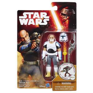 "STAR WARS Rebels Clone Wars Clone Commander Rex 3.75"" toy"
