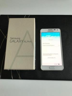 Samsung Galaxy Alpha 32gb White Unlocked