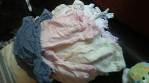 black sack full baby girls clothes 6=9 months