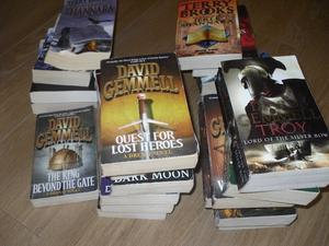 58 Science Fantasy paperbacks, many by Terry Brooks and David Gemmell.
