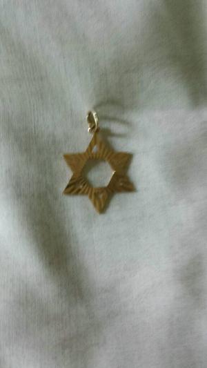 9carat Gold Star of David Pendant