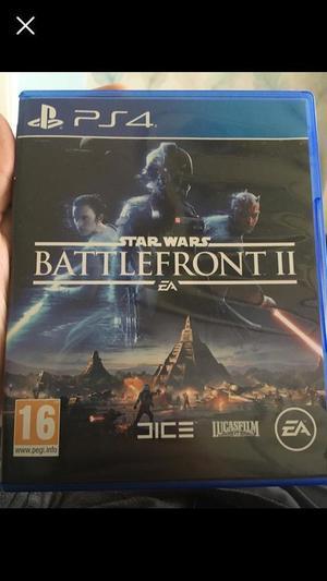 Battlefront II PS4 Star Wars