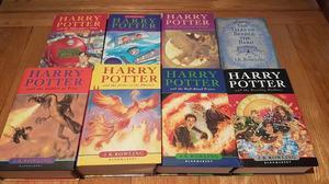 Harry Potter books Hardback