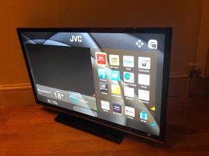 "Jvc 32"" full hd smart led WiFi tv. Great condition.full working order £160 NO OFFERS. CAN DELIVER"