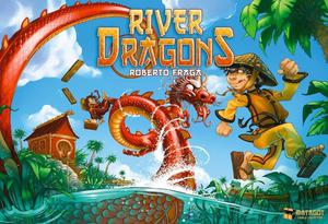 Kid's River Dragons Board Game - Brand New still sealed in packaging