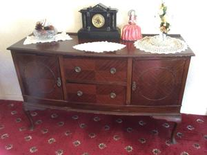 Mahogany Sideboard with Queen Anne Style legs.