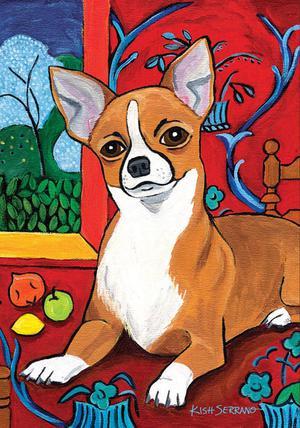 Muttisse Chihuahua Garden Flag Animals Toland Decorative Pet