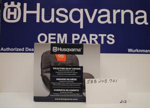 "OEM Husqvarna Riding Lawn Mower Seat Cover 15"" High Fits"