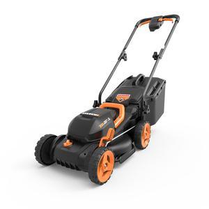 "WG779 WORX 20V 4.0 Cordless 13"" Lawn Mower w/ Mulching"