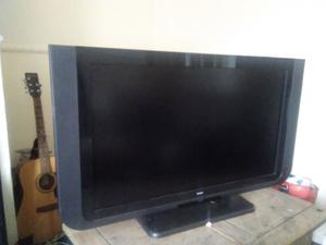 40 inch Technical television with remote and batteries.