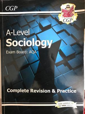 A level sociology book