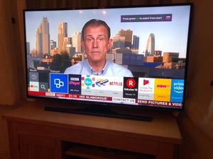"Samsung 48"" 4K ultra hd smart led tv. Excellent condition. £380 NO OFFERS.CAN DELIVER"
