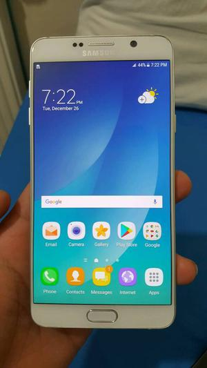 Samsung Galaxy Note 5 32GB White Color Unlocked Excellent Condition As like New Box