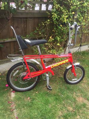 raleigh chopper bike brand new frunt and rear brake cabels and noodles just fitted