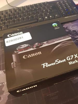 Canon PowerShot G7X Mark II 20.2MP Digital Camera - Black