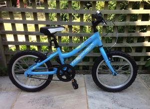 "Ridgeback Melody 16"" Kids' Bike (plus stabilisers) superb condition"