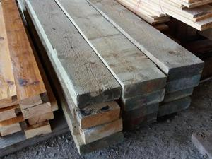 """Timber 8"""" x 3"""" pressure treated timber 9ft lengths just £15"""