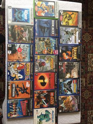 19 PlayStation 2 games job lot