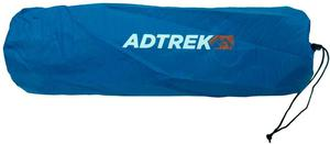 Adtrek Blue XL Single Self Inflating Camping Mat Camp Bed Mattress, 196cm x 61cm, Carry Bag Included