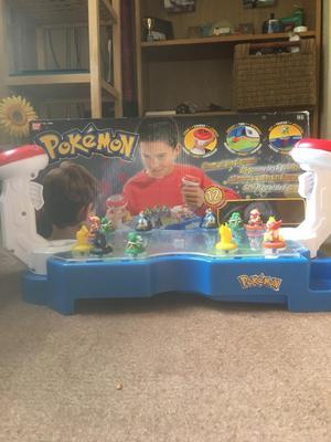 Pokemon marble battle station