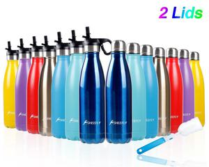 SHEEFLY 500ml Double Wall Vacuum Insulated Stainless Steel