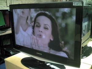 """32""""SAMSUNG LCD TV FREEVIEW HD GOOD WORKING ORDER WITH REMOTE CAN DELIVER"""