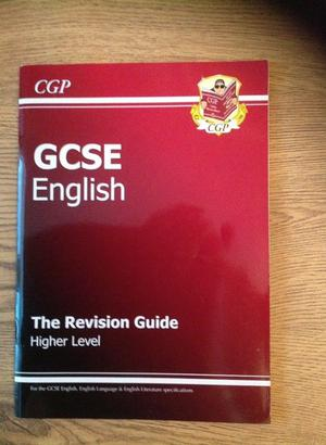 Brand New CGP GCSE English Revision Guide