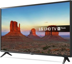 "LG 43UKPLB 43"" Smart 4K Ultra HD HDR LED TV, Freeview"