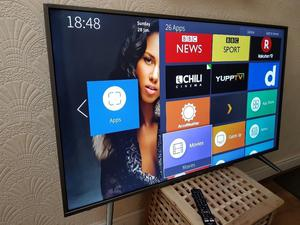 BRAND NEW BOXED HISENSE 55-inch 55N UHD 4K HDR Smart LED TV,built in Wifi,Freeview & FREESAT HD