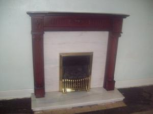 Fire Surround Fire Mantelpiece White Mdf With Posot Class