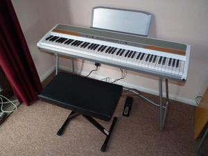 Korg SP Note Digital Electric Stage Piano with Stool, Stand and Pedal